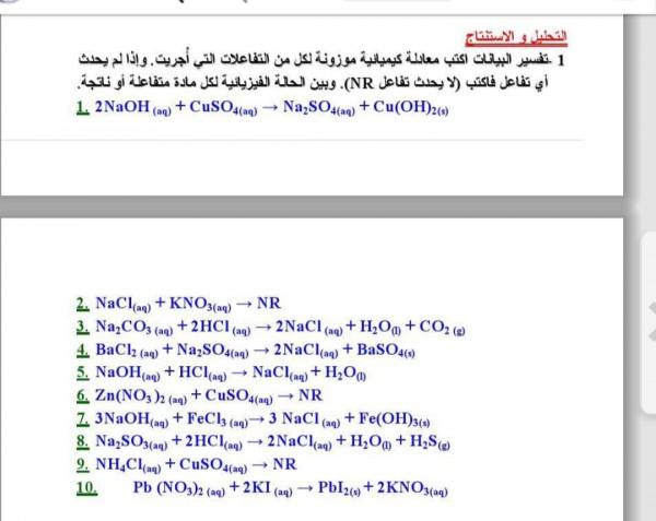 نادم العبارة انا اعتقد اني مريض معادلات كيميائية موزونة مع الحل Dsvdedommel Com
